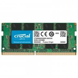 MEMOIRE PC Crucial SODIMM DDR4 8 Go 3200 MHz CL22 RAM DDR4 PC4-25600