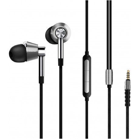 ECOUTEURS 1MORE TRIPLE DRIVER INTRA-AURICULAIRE SILVER