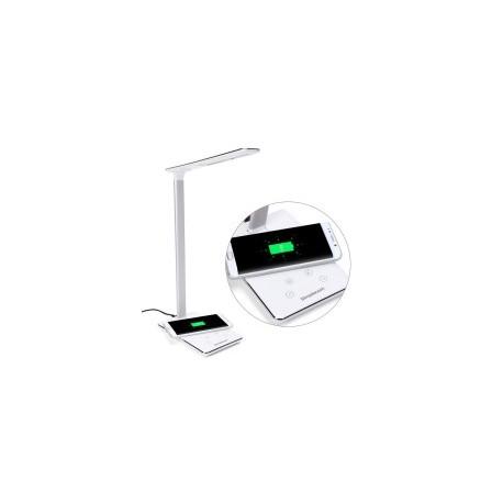 LAMPE SIMPLECOM EL818 LED DIMMABLE AVEC BASE DE CHARGEMENT SMARTPHONE