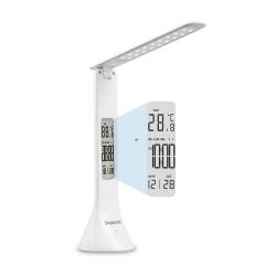 LAMPE DE BUREAU SIMPLECOM EL610 RECHARGEABLE AVEC AFFICHAGE DIGITAL